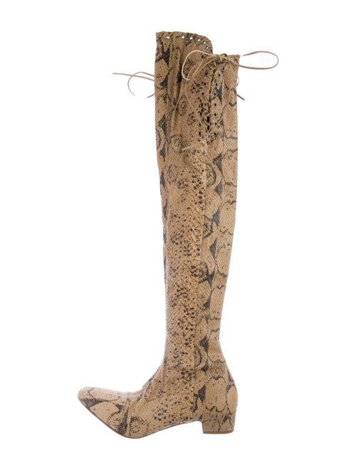 Salvatore Ferragamo Snakeskin Boots