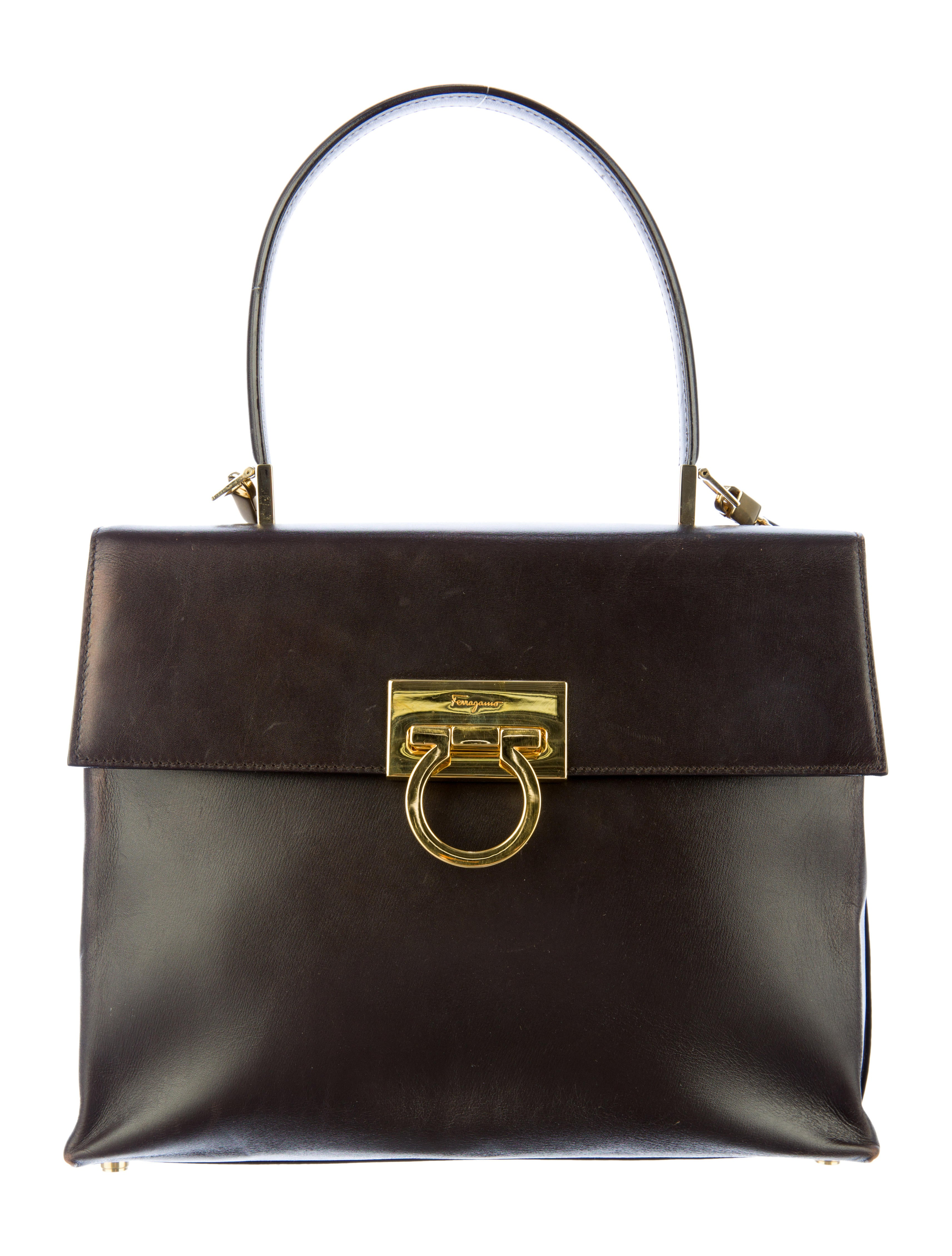 3529f2ed24 Salvatore Ferragamo Kelly Bag - Handbags - SAL21996