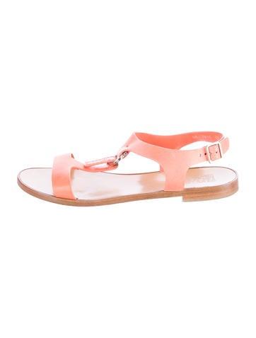 Gancini Flat Sandals