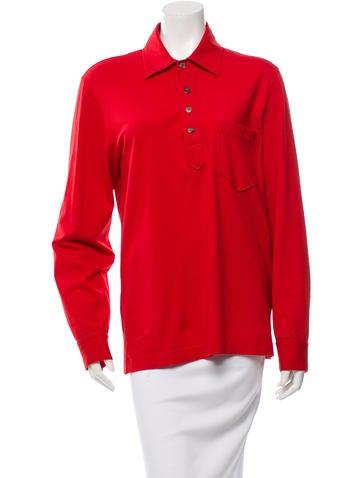 Salvatore Ferragamo Long Sleeve Pullover Top None