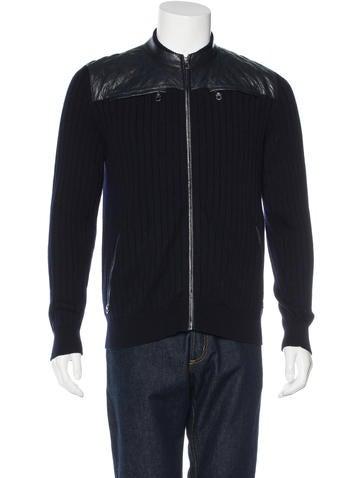 Salvatore Ferragamo Gancio Rib Knit Sweater None