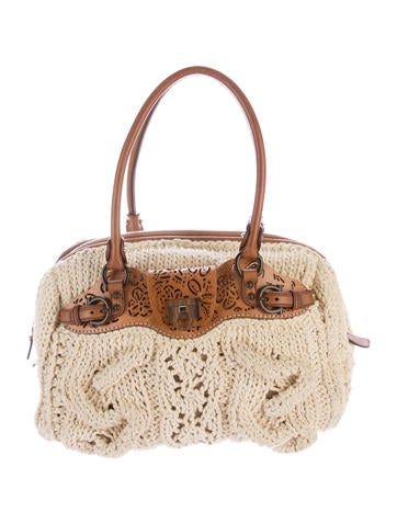 Crochet Handle Bag