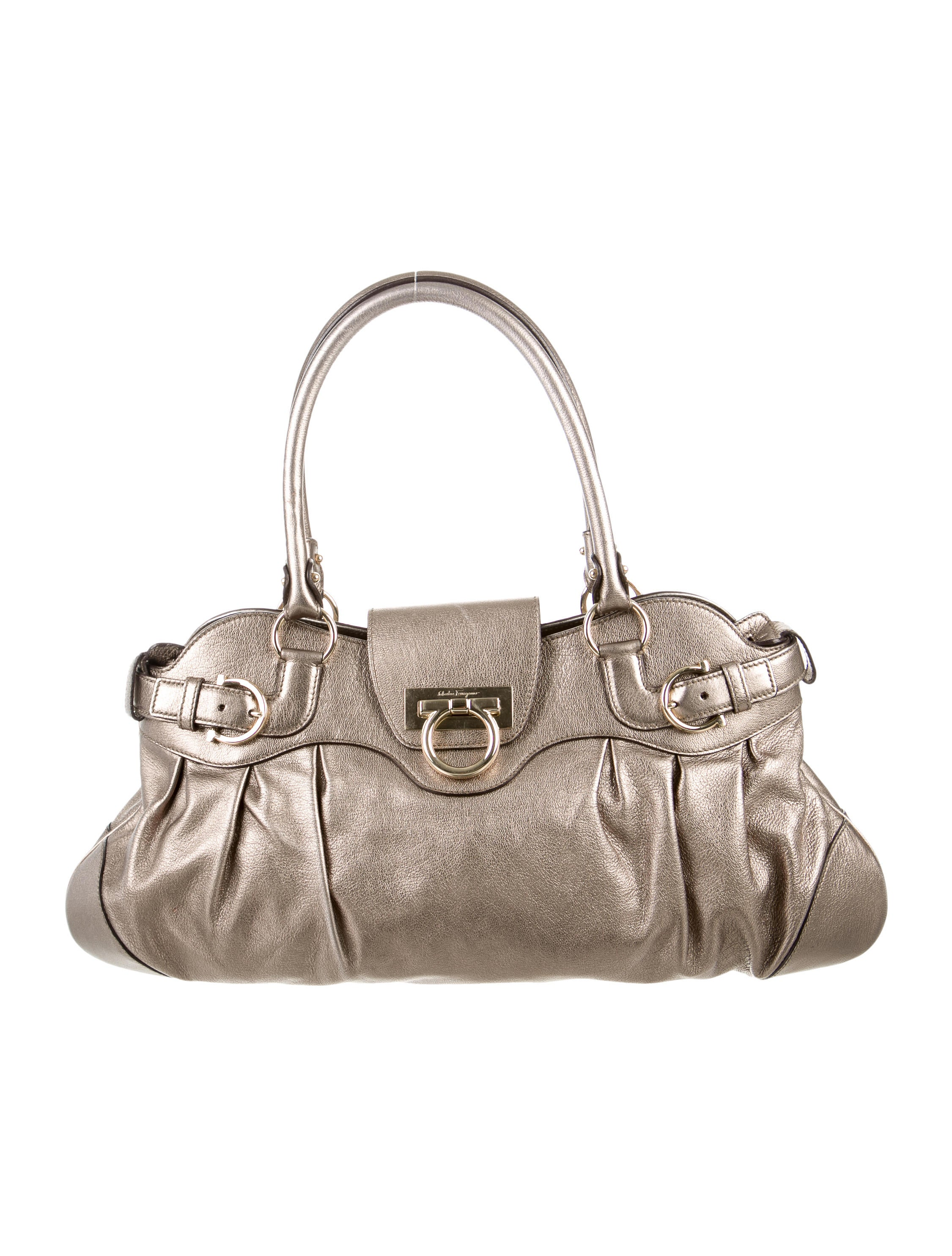 Salvatore Ferragamo Metallic Marisa Bag - Handbags - SAL39007   The ... f5e8bf2f8b