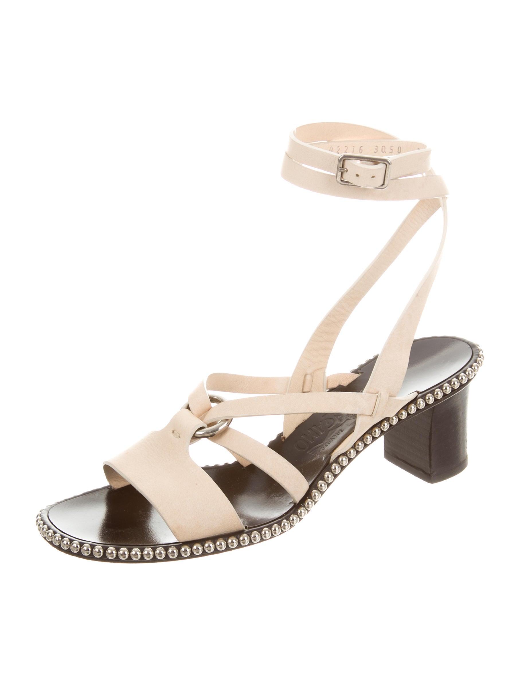 Salvatore Ferragamo Embellished Multistrap Sandals deals cheap online qF2PG