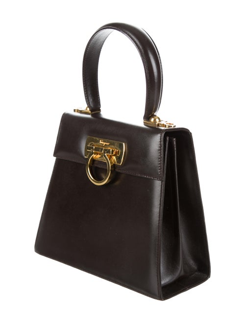 2c1c89fe14 Salvatore Ferragamo Top Handle Kelly Bag - Handbags - SAL39618