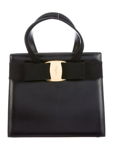 Salvatore Ferragamo Vara Handle Bag None