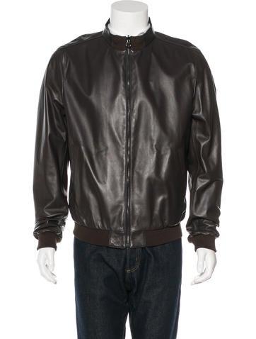Salvatore Ferragamo Reversible Leather Jacket None