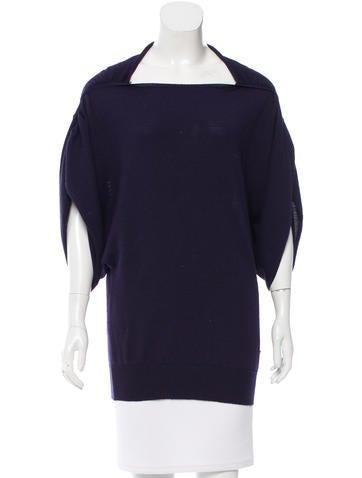 Salvatore Ferragamo Wool-Blend Oversize sweater None