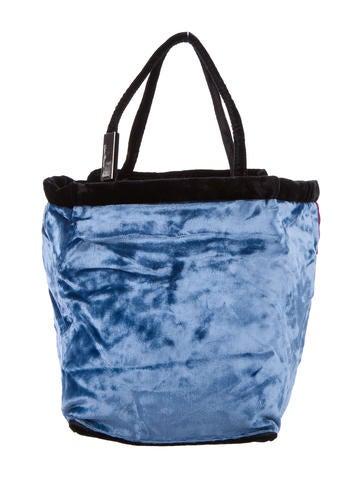 Salvatore Ferragamo Colorblock Velvet Handle Bag None