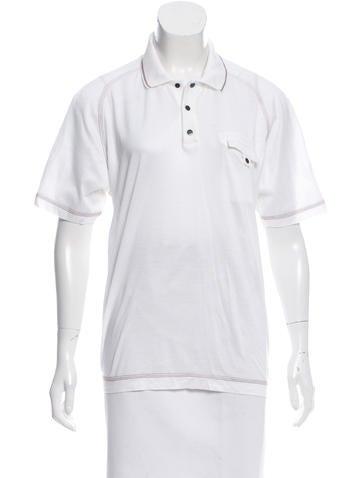Salvatore Ferragamo Short Sleeve Polo Top None