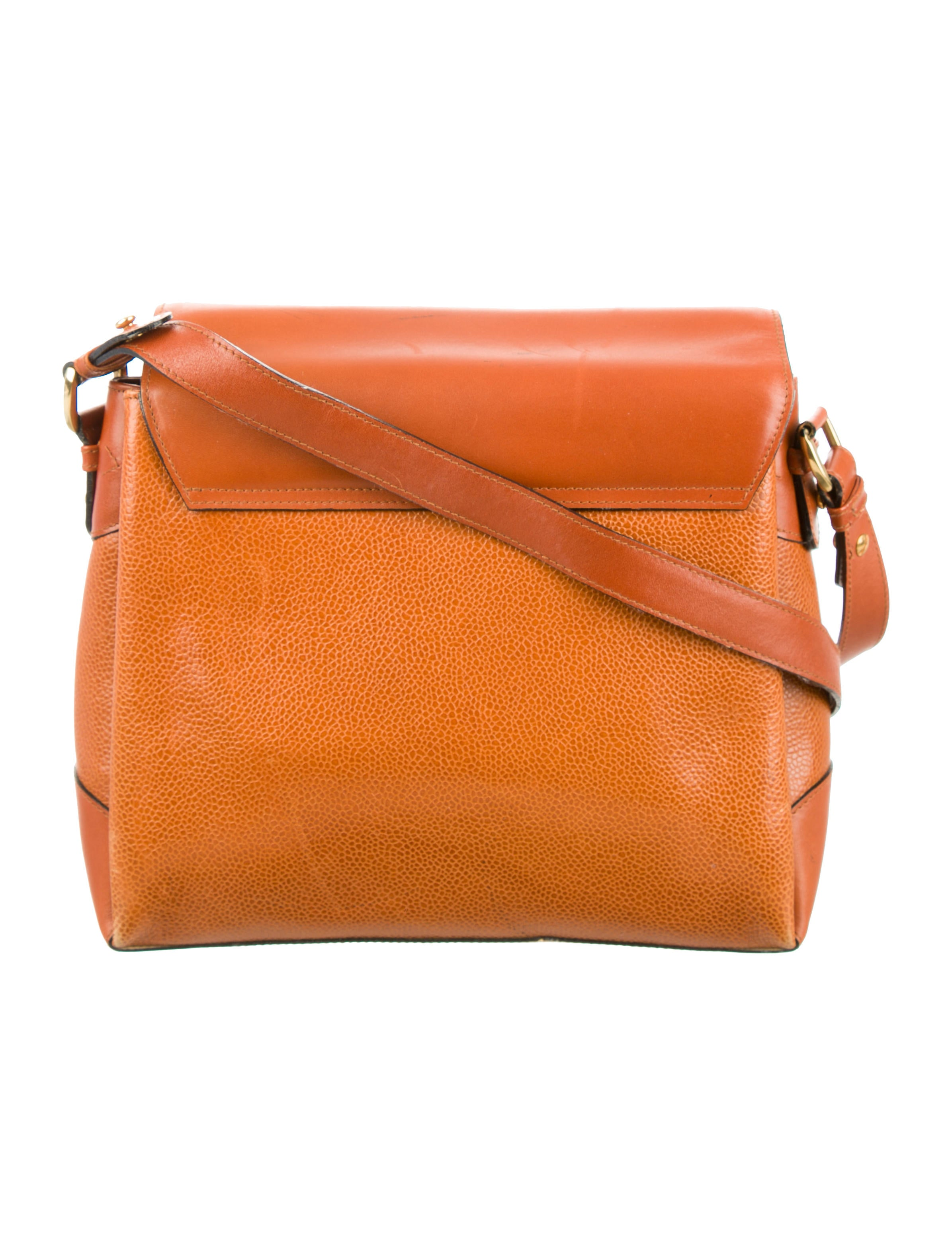 Black Pebbled Leather Crossbody Bag 24