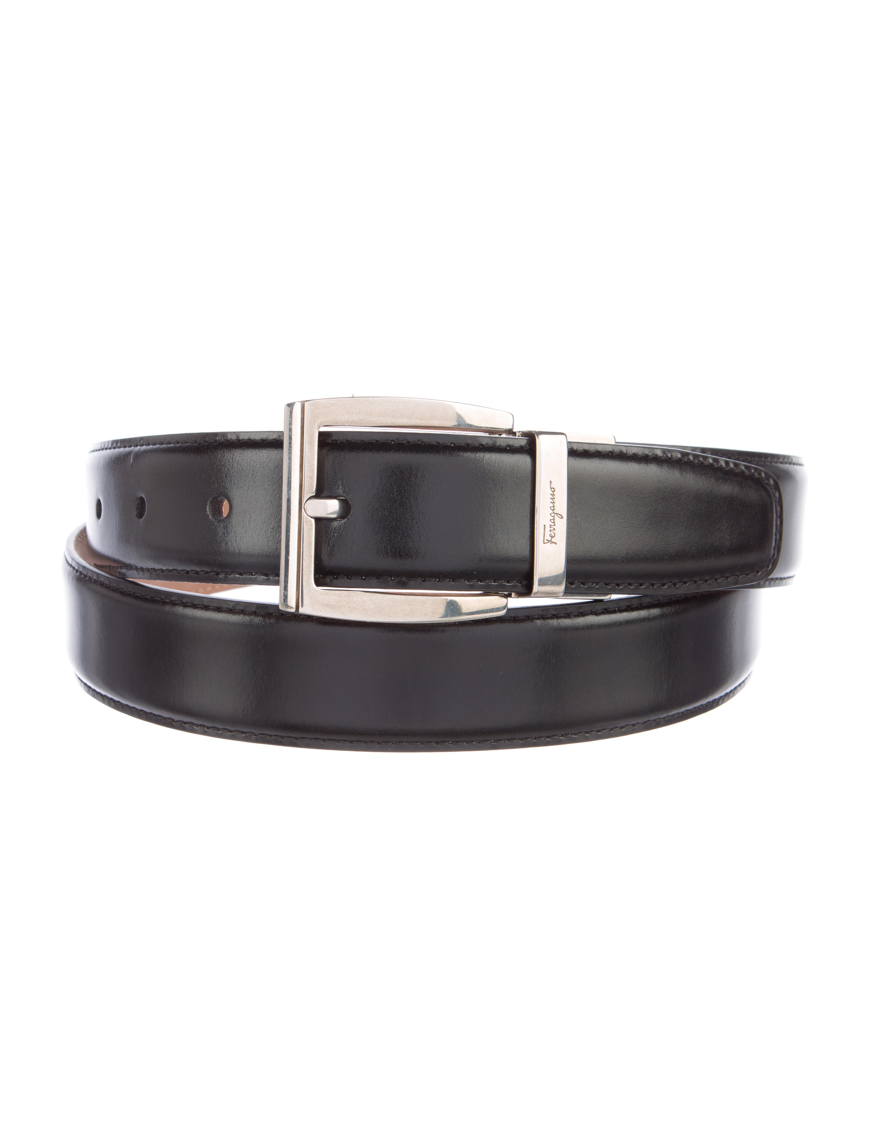 Salvatore Ferragamo Leather Dress Belt - Accessories - SAL45943 - The ...