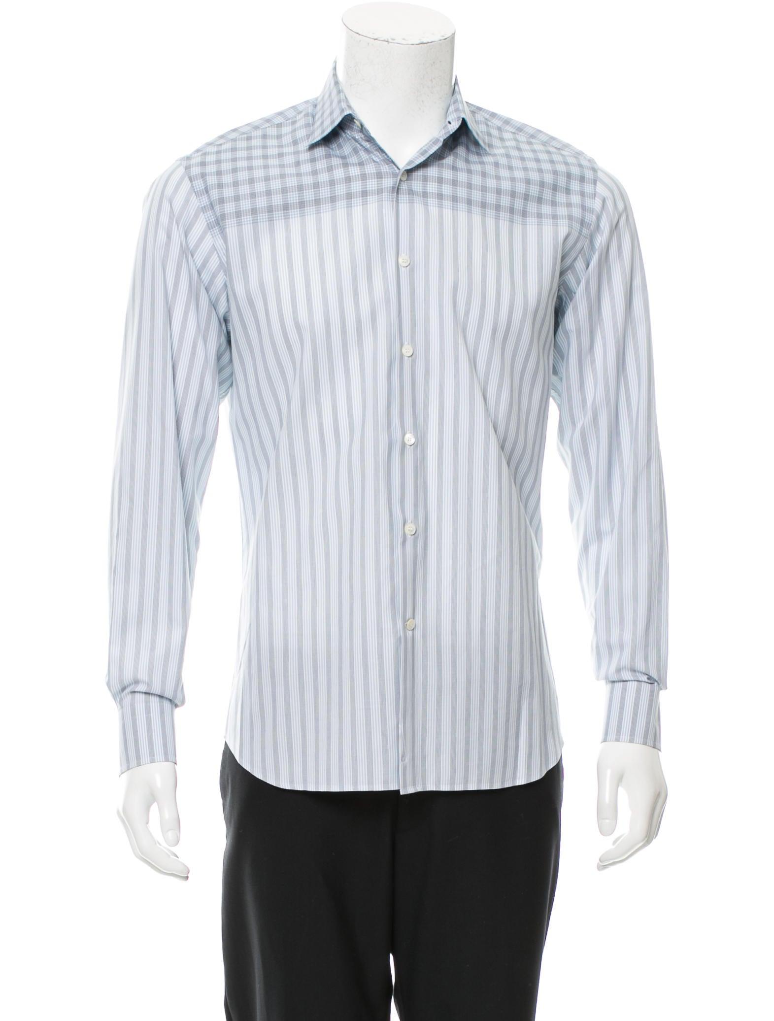 Salvatore Ferragamo Woven Printed Shirt - Clothing ...