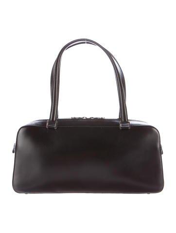 Salvatore Ferragamo Leather Handle Bag None