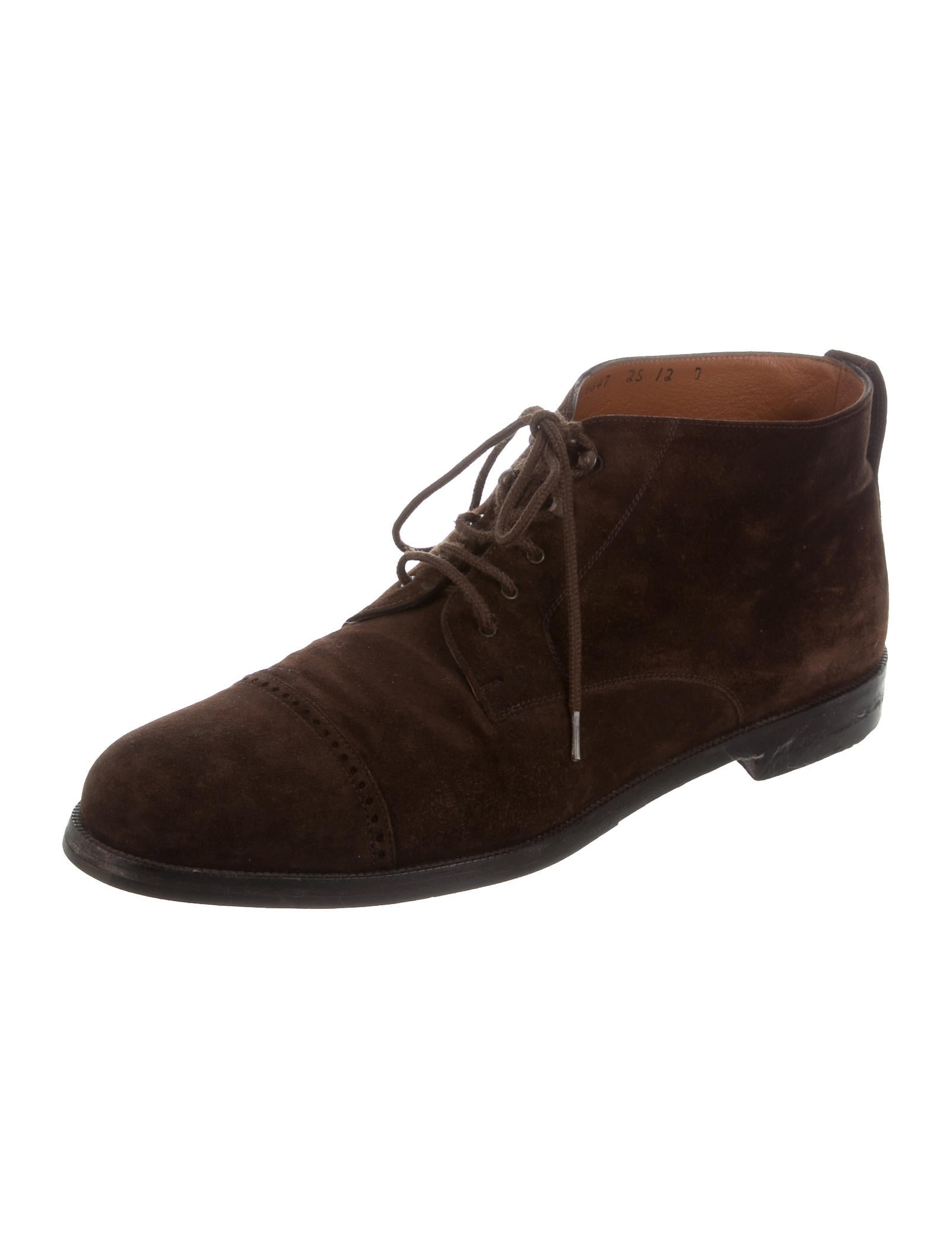 salvatore ferragamo suede ankle boots shoes sal46364