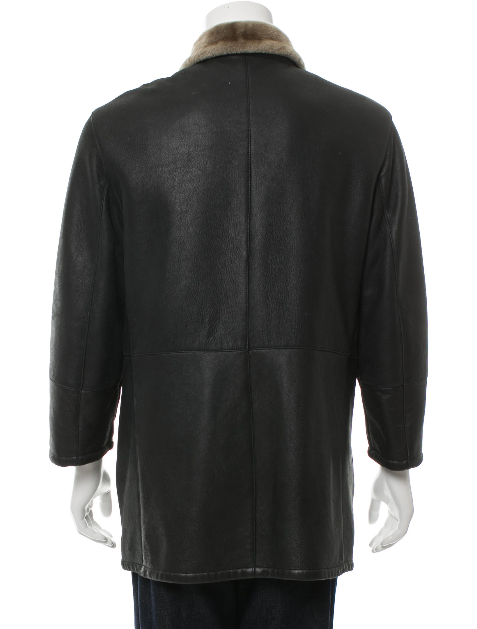 Salvatore Ferragamo Gancini Shearling Coat - Clothing ...