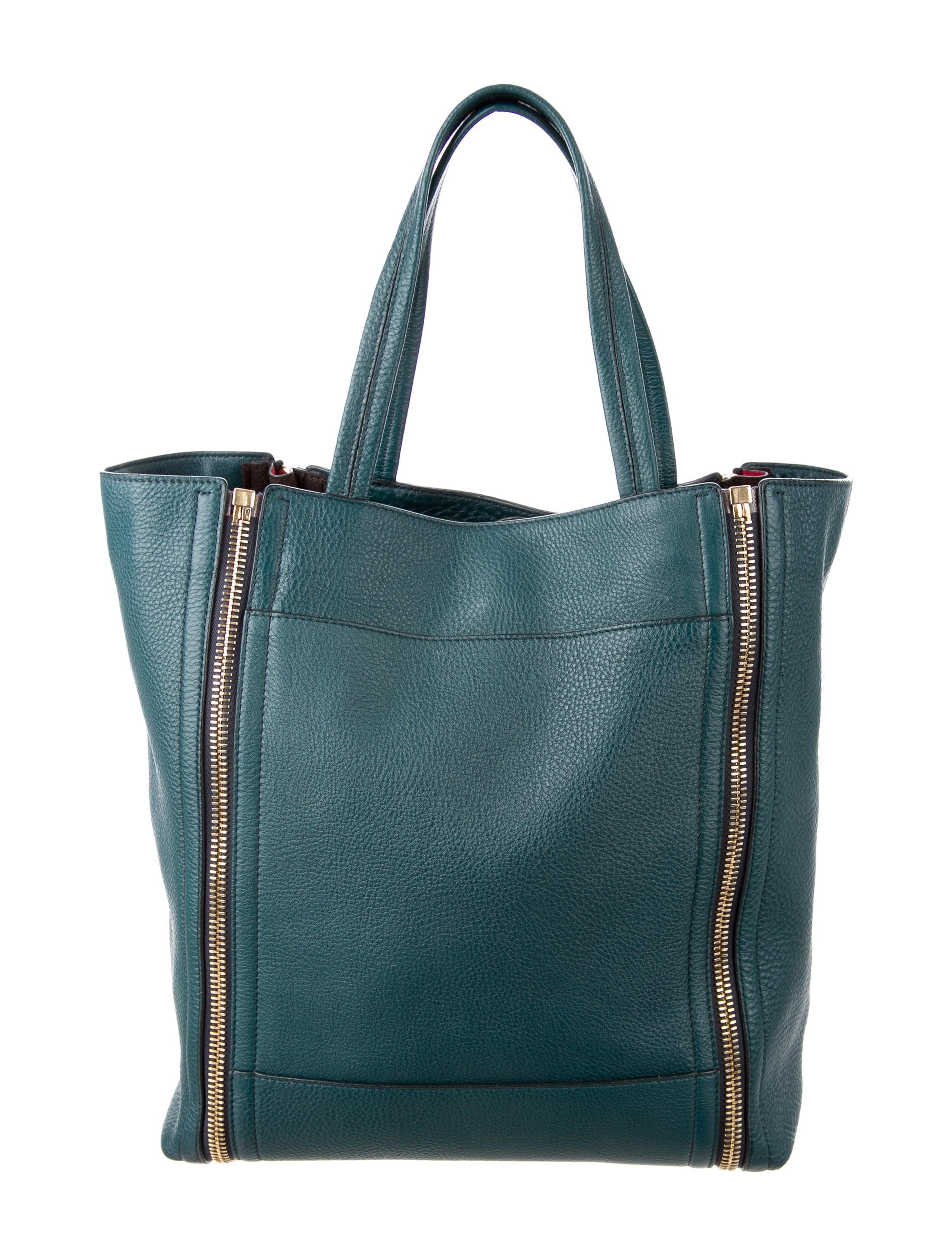 fdbfefc53f Salvatore Ferragamo Leather Suzanne Tote - Handbags - SAL47170