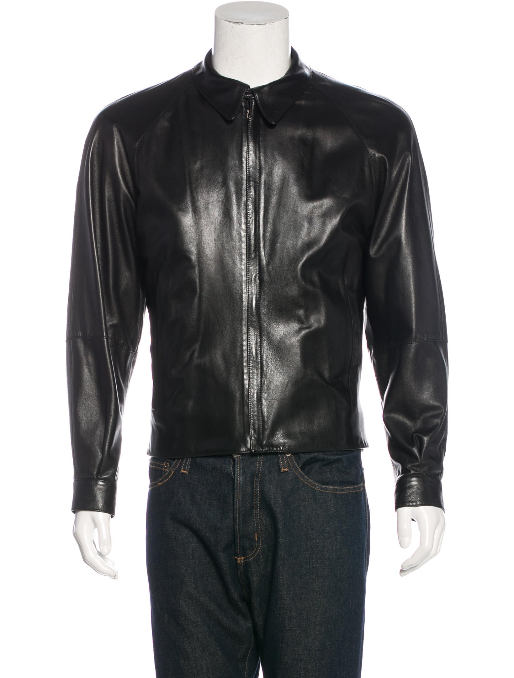 Free shipping and returns on Men's Leather (Genuine) Coats & Jackets at londonmetalumni.ml