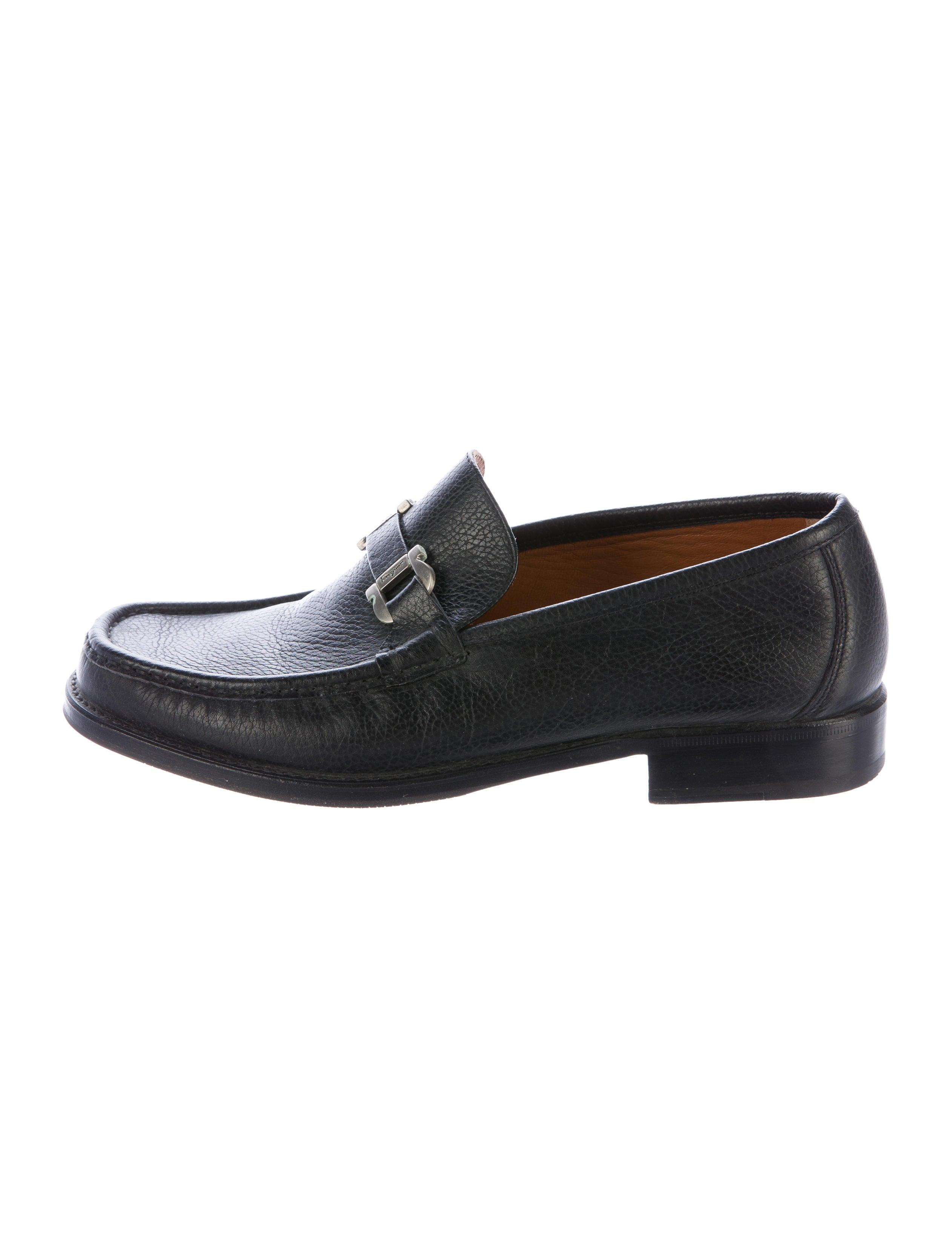 salvatore ferragamo gancio dress loafers shoes