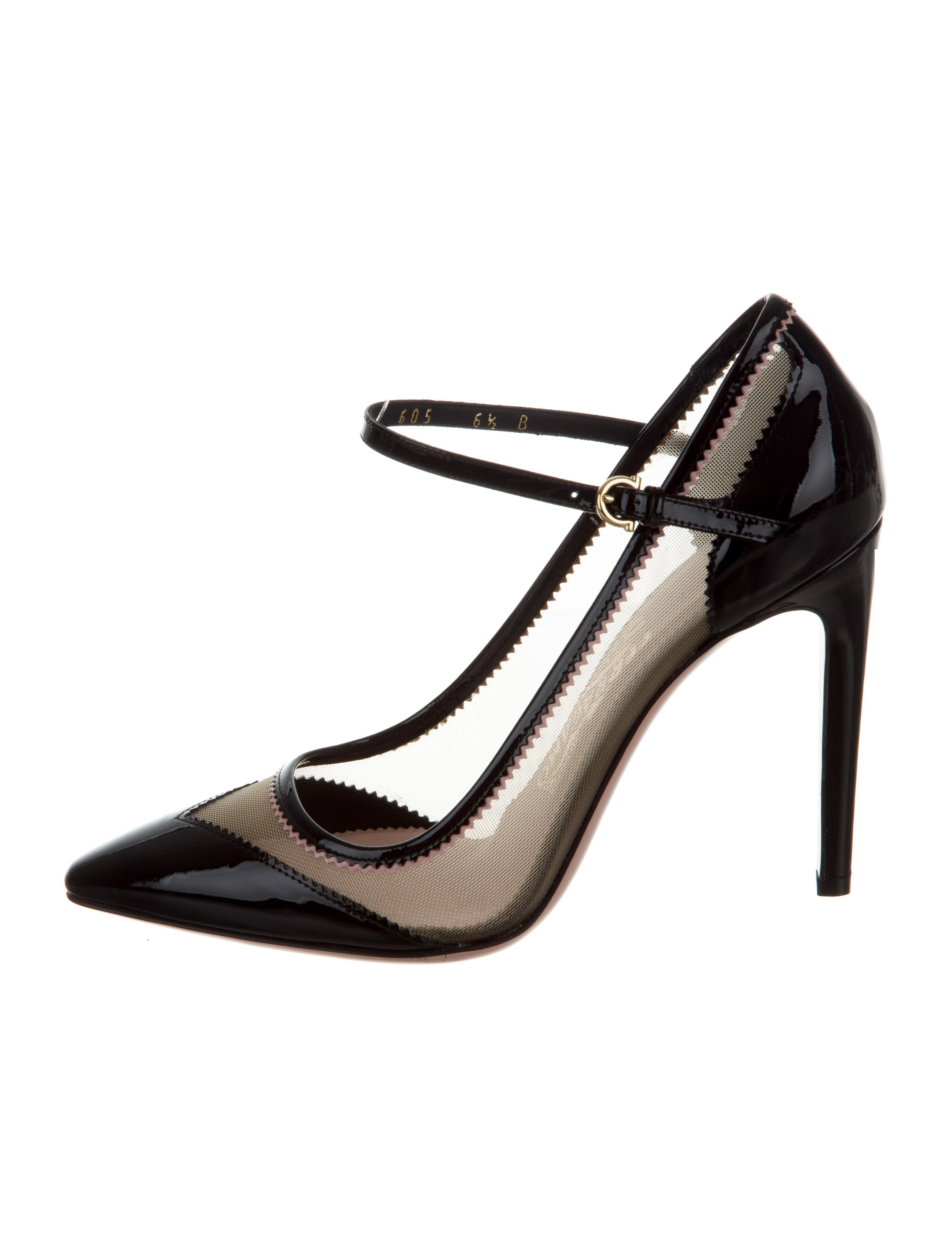 Salvatore Ferragamo Embellished Pointed-Toe Pumps outlet cheap price hsoql