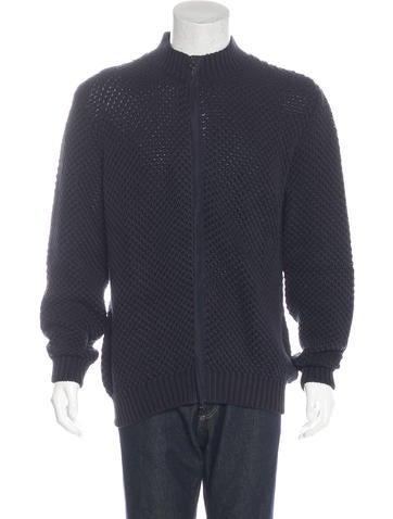 Salvatore Ferragamo Seed Knit Sweater None