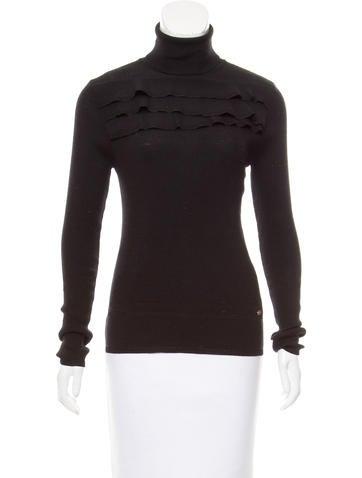 Salvatore Ferragamo Wool Turtleneck Sweater None