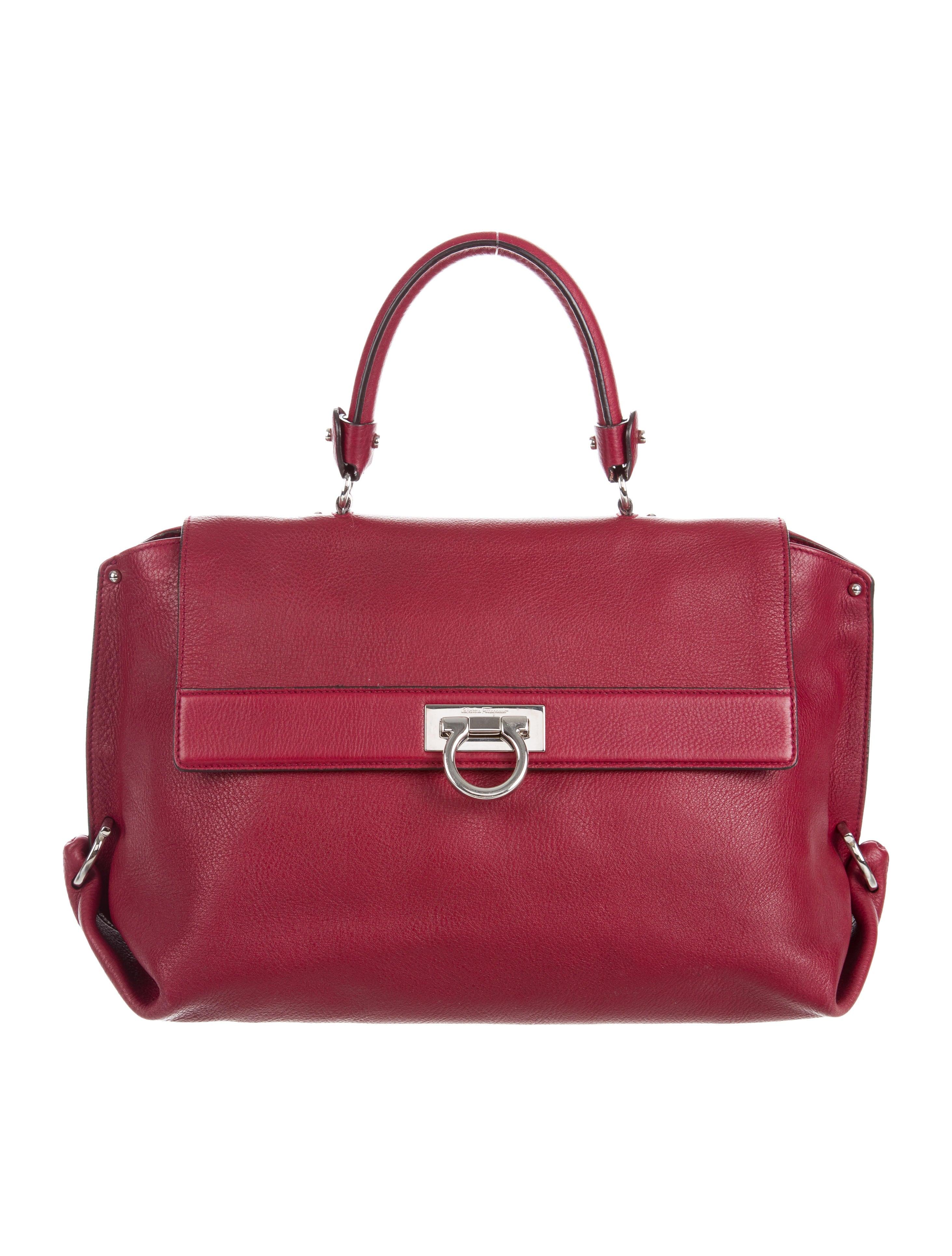 Salvatore Ferragamo Large Sofia Bag - Handbags - SAL50760  f47764e0e7489