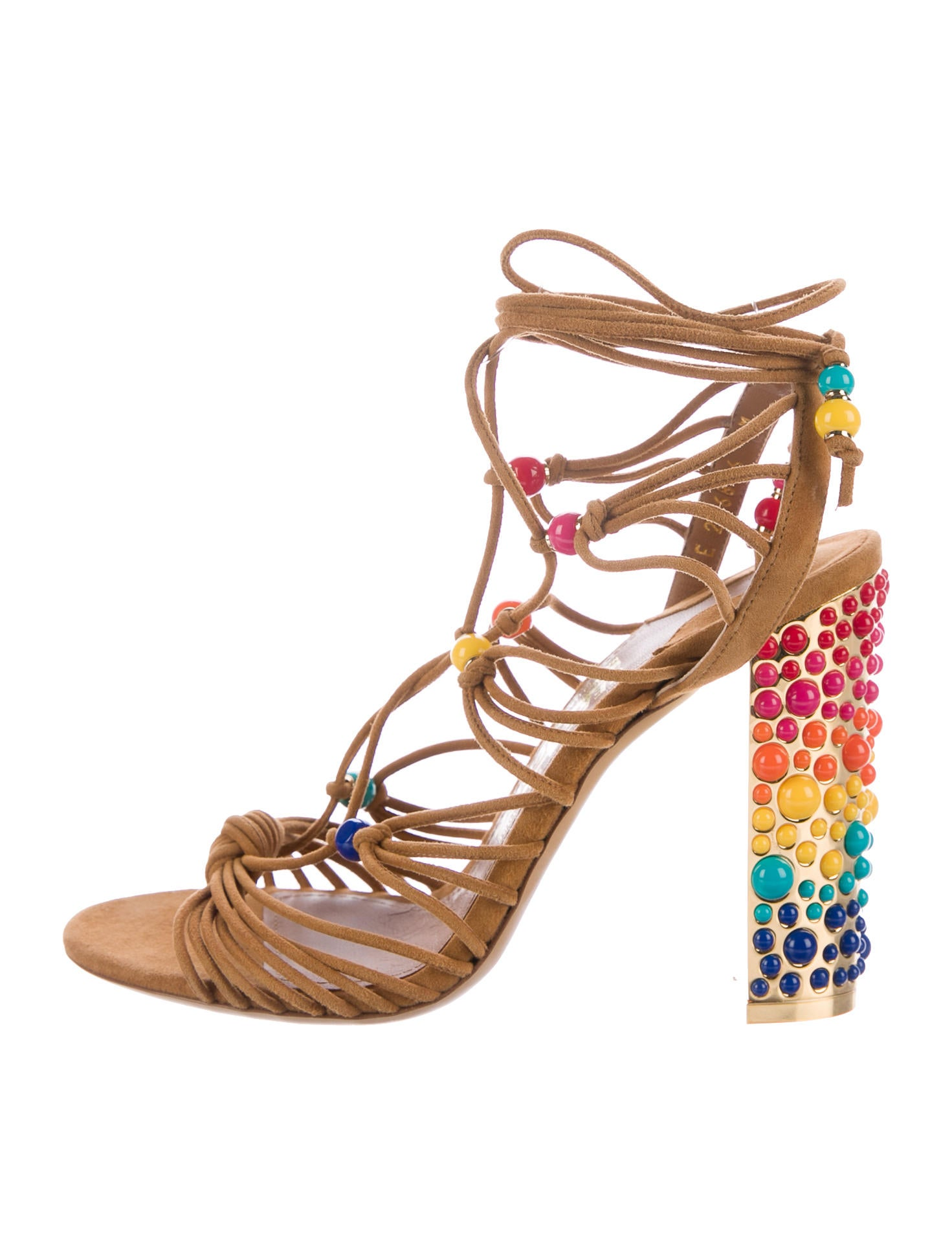shop offer Salvatore Ferragamo Suede Embellished Sandals new arrival online sale finishline outlet where to buy clearance original jC7q99tTF