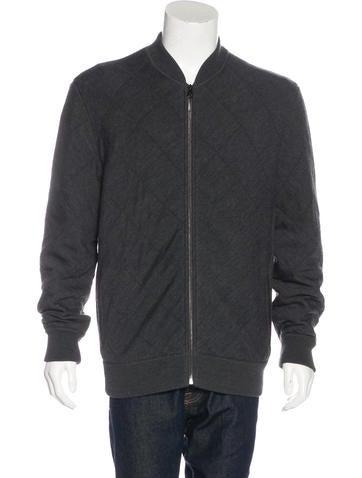 Salvatore Ferragamo Virgin Wool Zip Sweater None