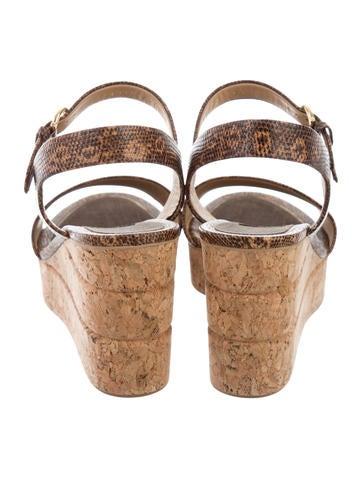 bd3f2dc8c1d Salvatore Ferragamo Madea Wedge Sandals w  Tags - Shoes - SAL51999 ...