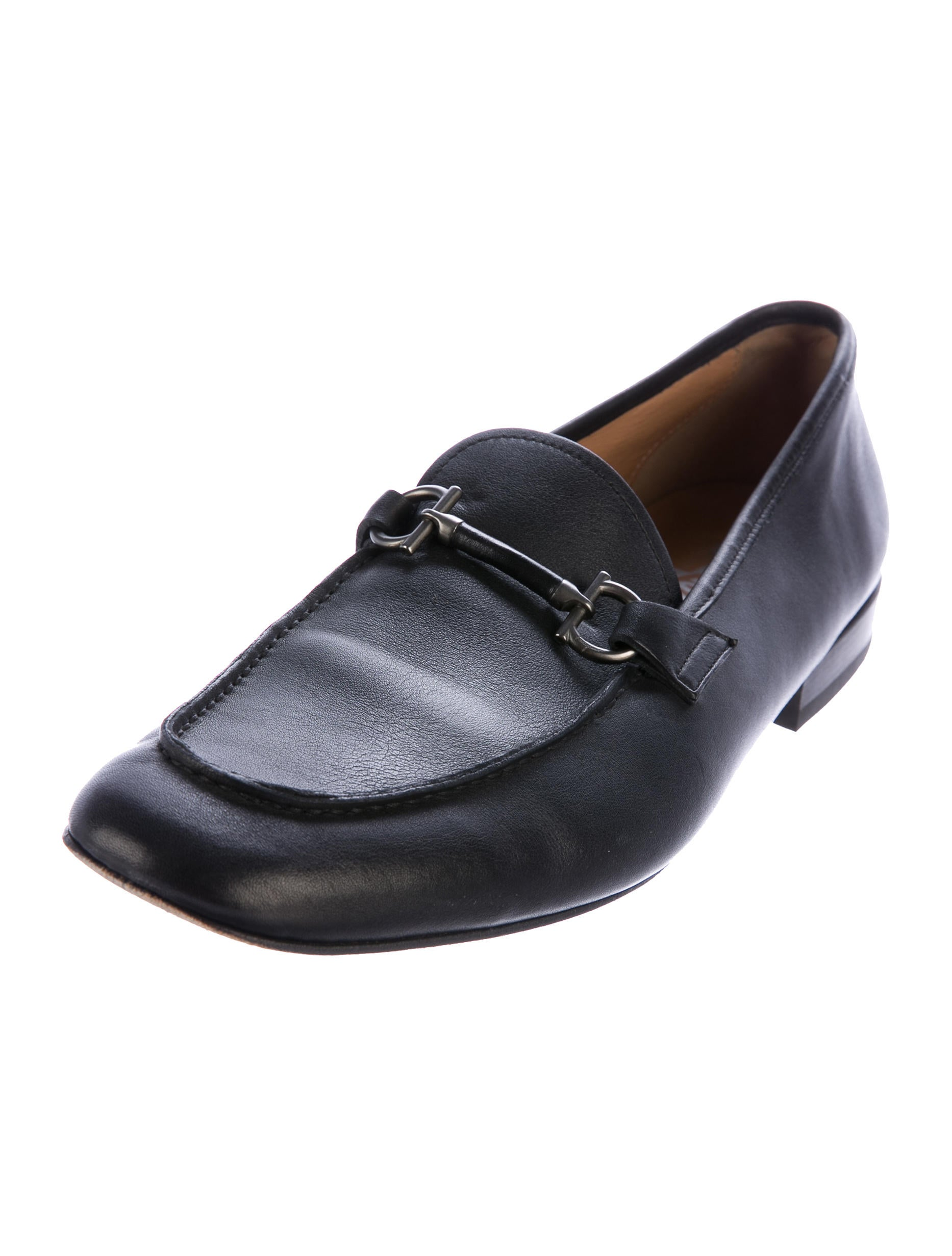 salvatore ferragamo gancini dress loafers shoes