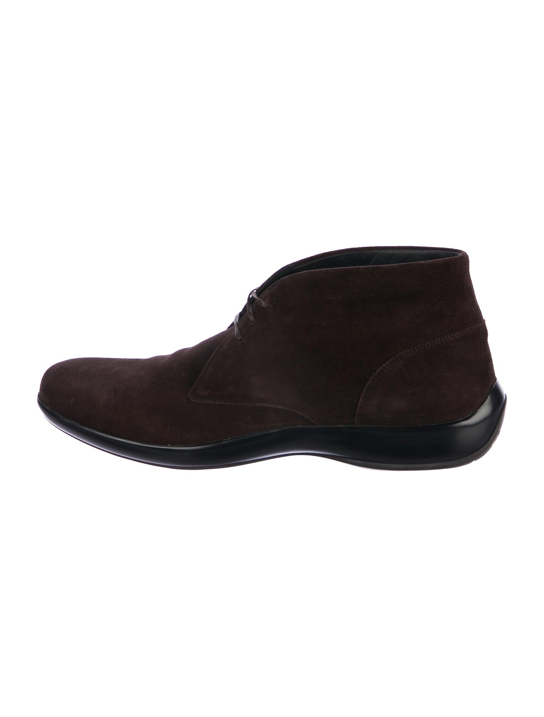 salvatore ferragamo suede desert boots shoes sal52742