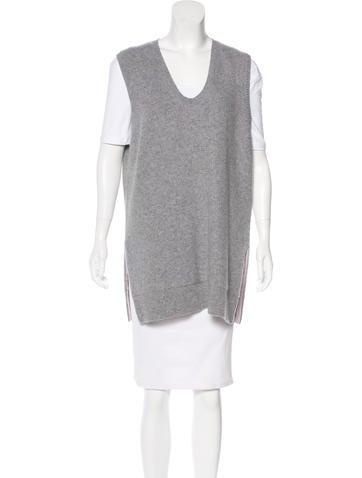 Salvatore Ferragamo Cashmere Sweater Vest None