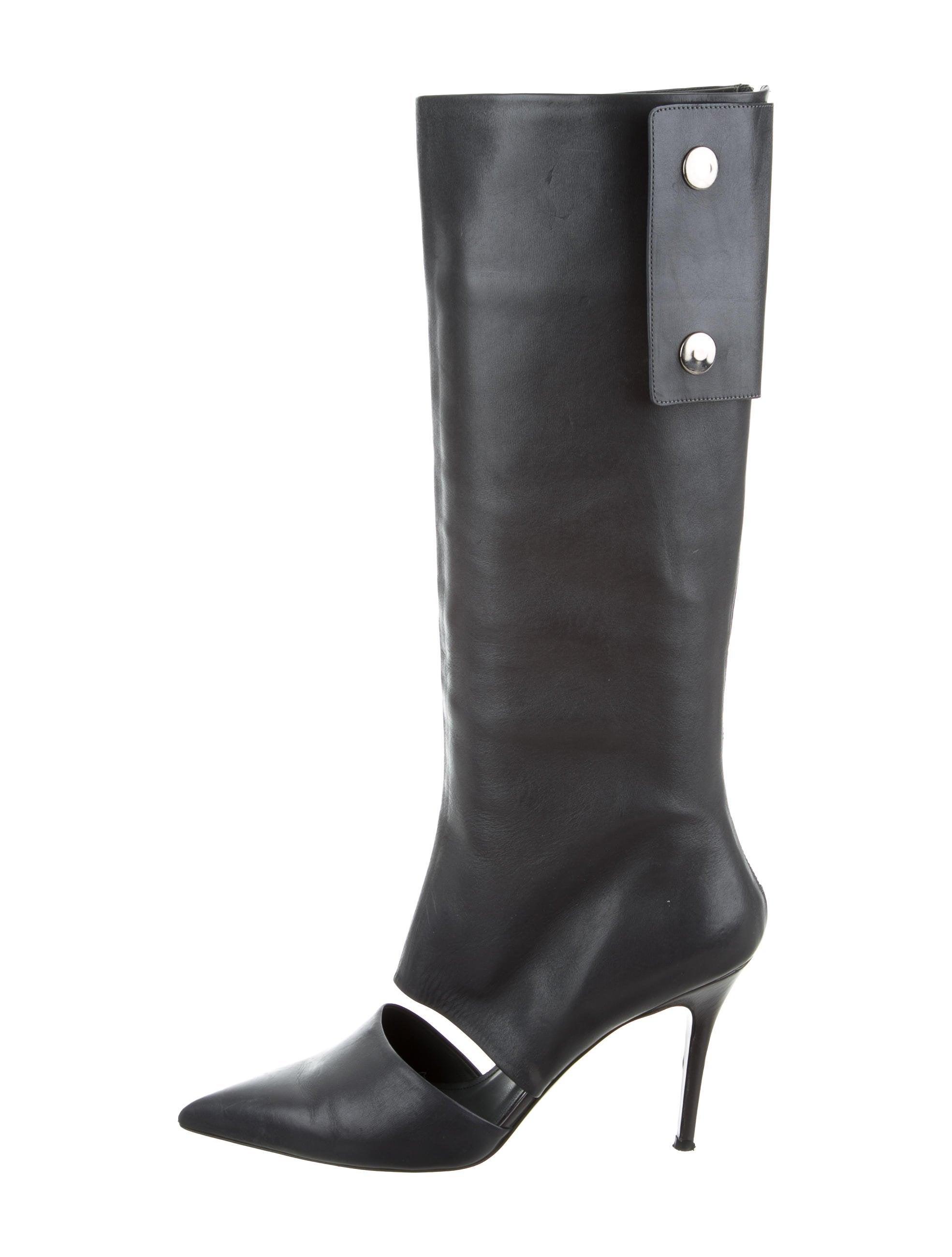 find great online Salvatore Ferragamo Cutout Knee-High Boots buy cheap marketable free shipping low cost cheap sale enjoy sale brand new unisex u2OJ5kTL4