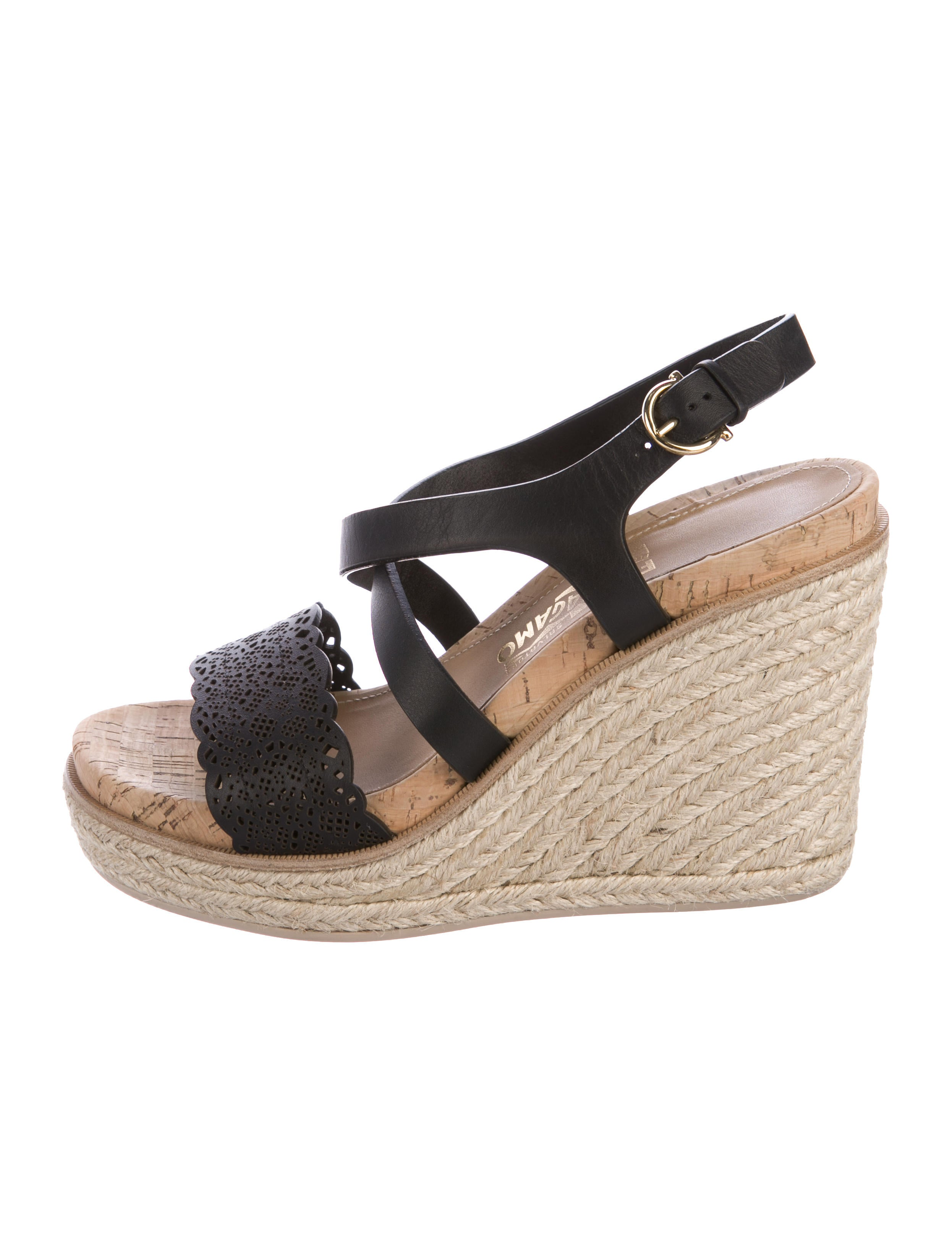 b9d2e7eb3ff3 Salvatore Ferragamo Gioela Platform Wedge Sandals - Shoes - SAL54949 ...