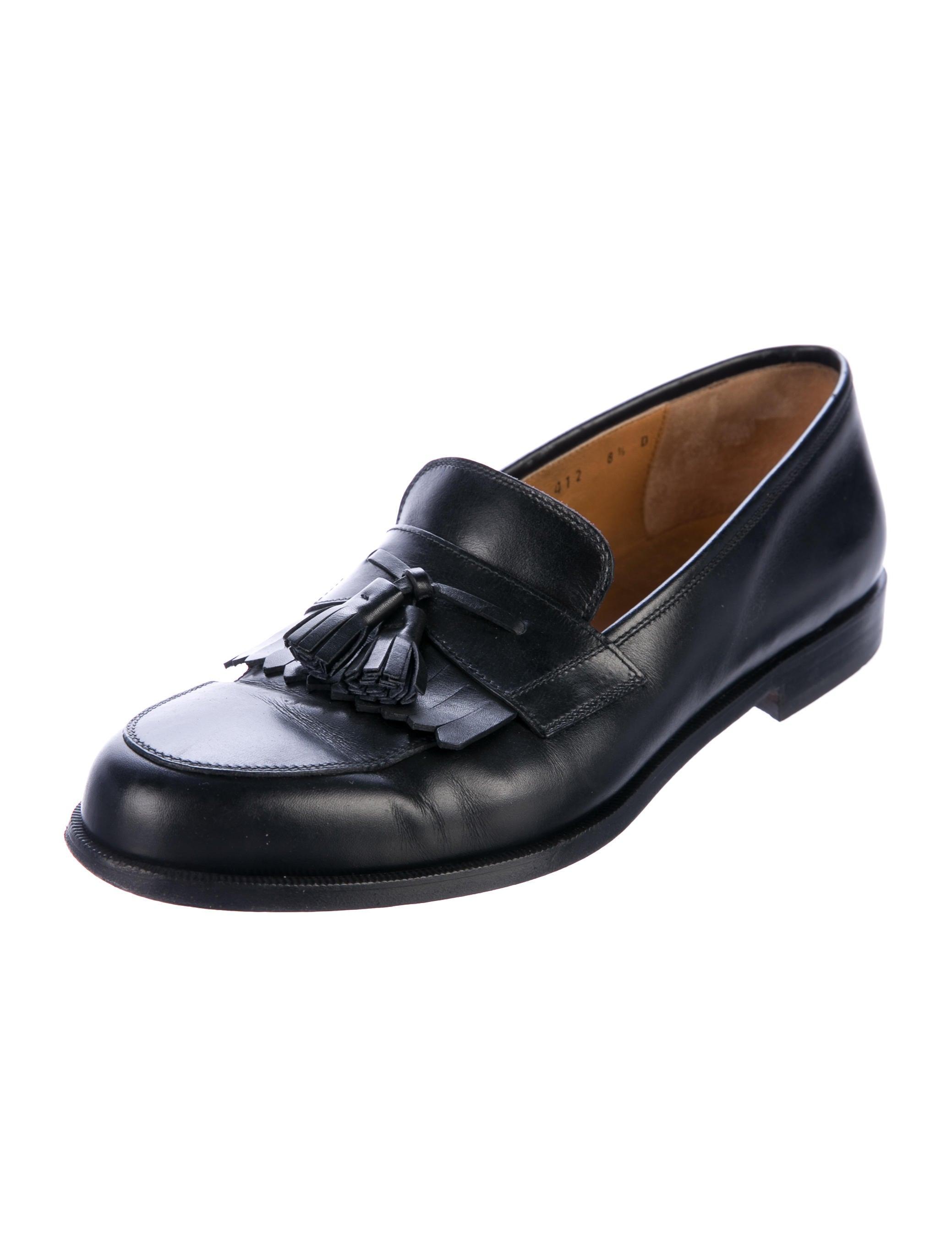 salvatore ferragamo tassel dress loafers shoes