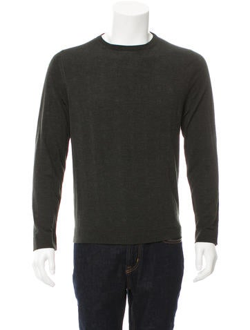 Salvatore Ferragamo Wool Crew Neck Sweater None