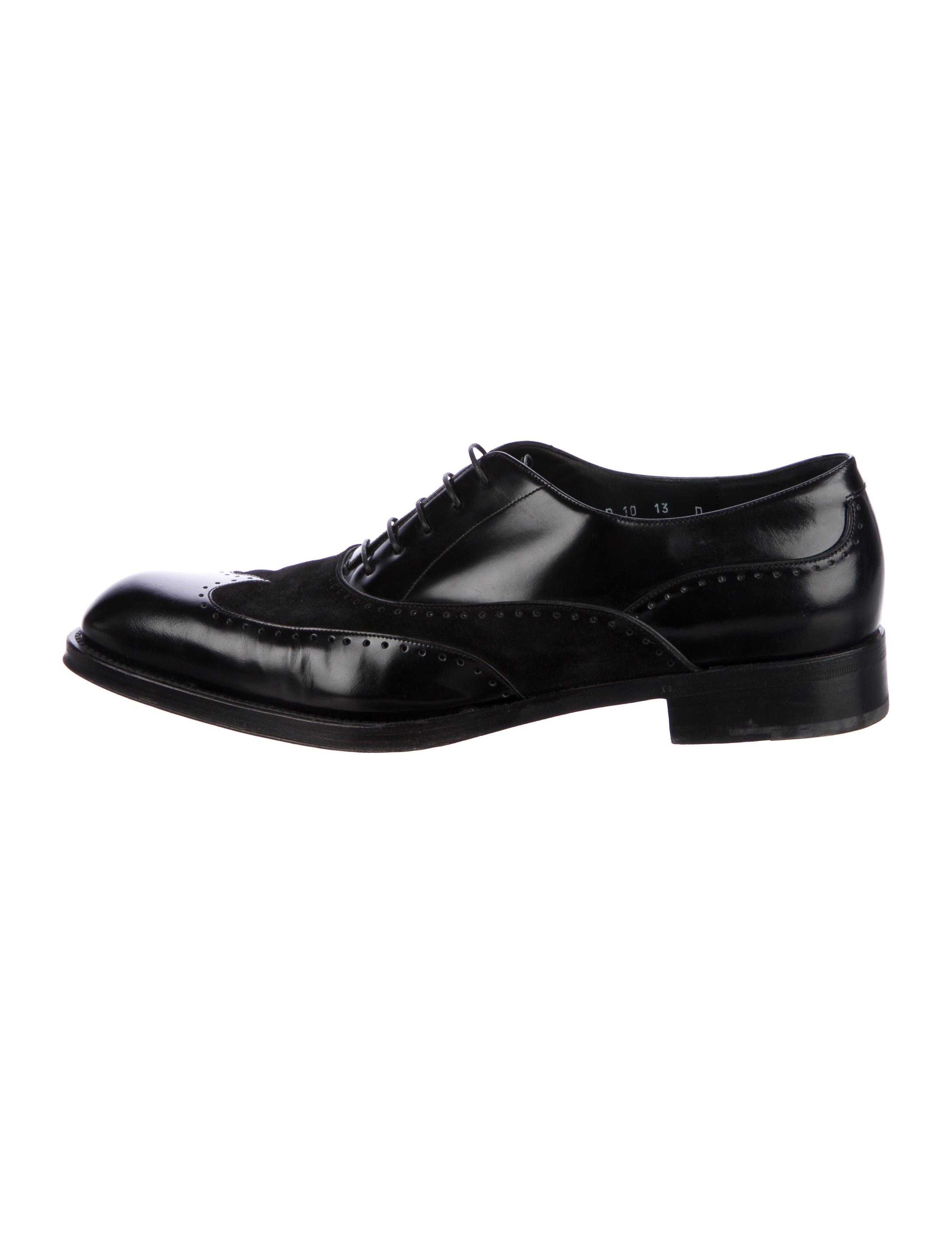 1dd7e174a4b2a Salvatore Ferragamo Wingtip Spectator Oxfords - Shoes - SAL56471 ...