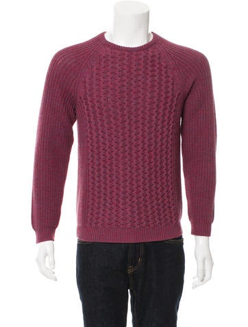Salvatore Ferragamo Wool Rib Knit Sweater None