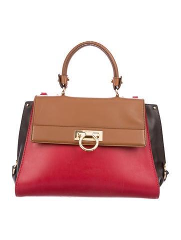 Salvatore Ferragamo Leather Sofia Bag None