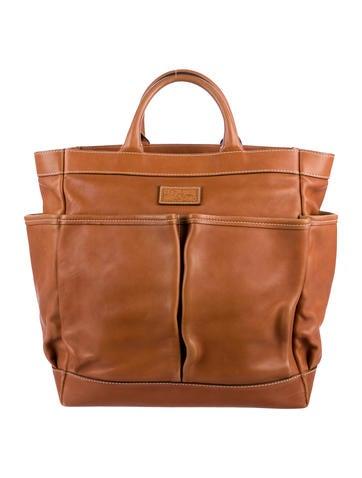 Salvatore Ferragamo Leather Tote None