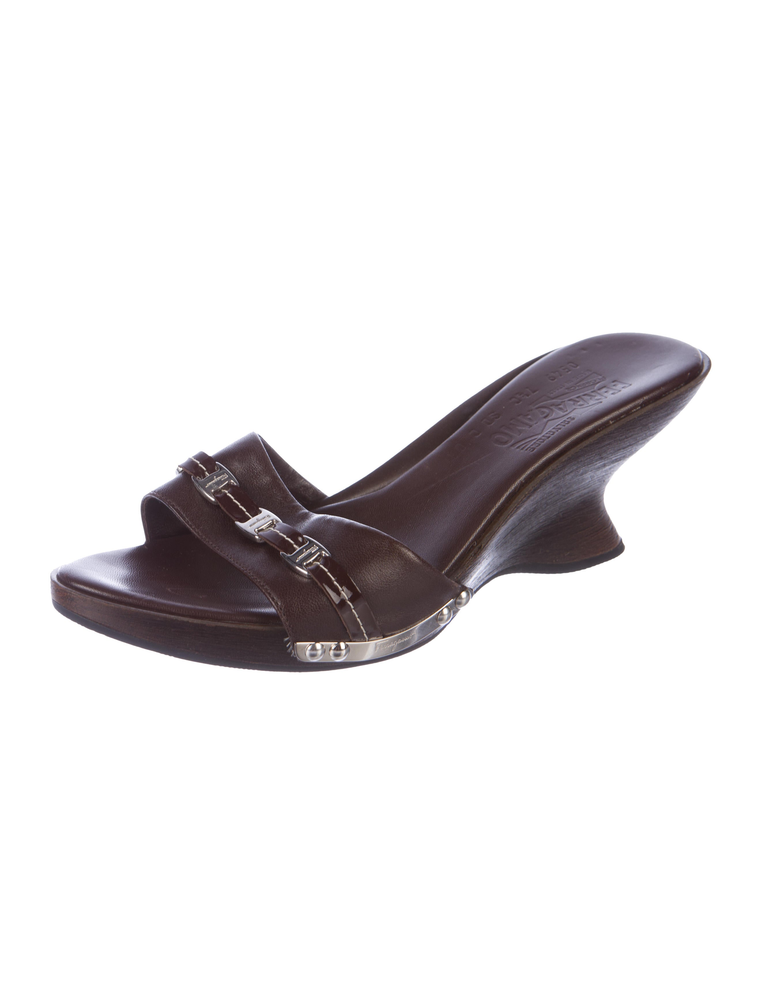 footlocker finishline cheap online new styles sale online Salvatore Ferragamo Caterina Leather Wedges cheap shop buy cheap tumblr sast for sale jMVsqwMSHq
