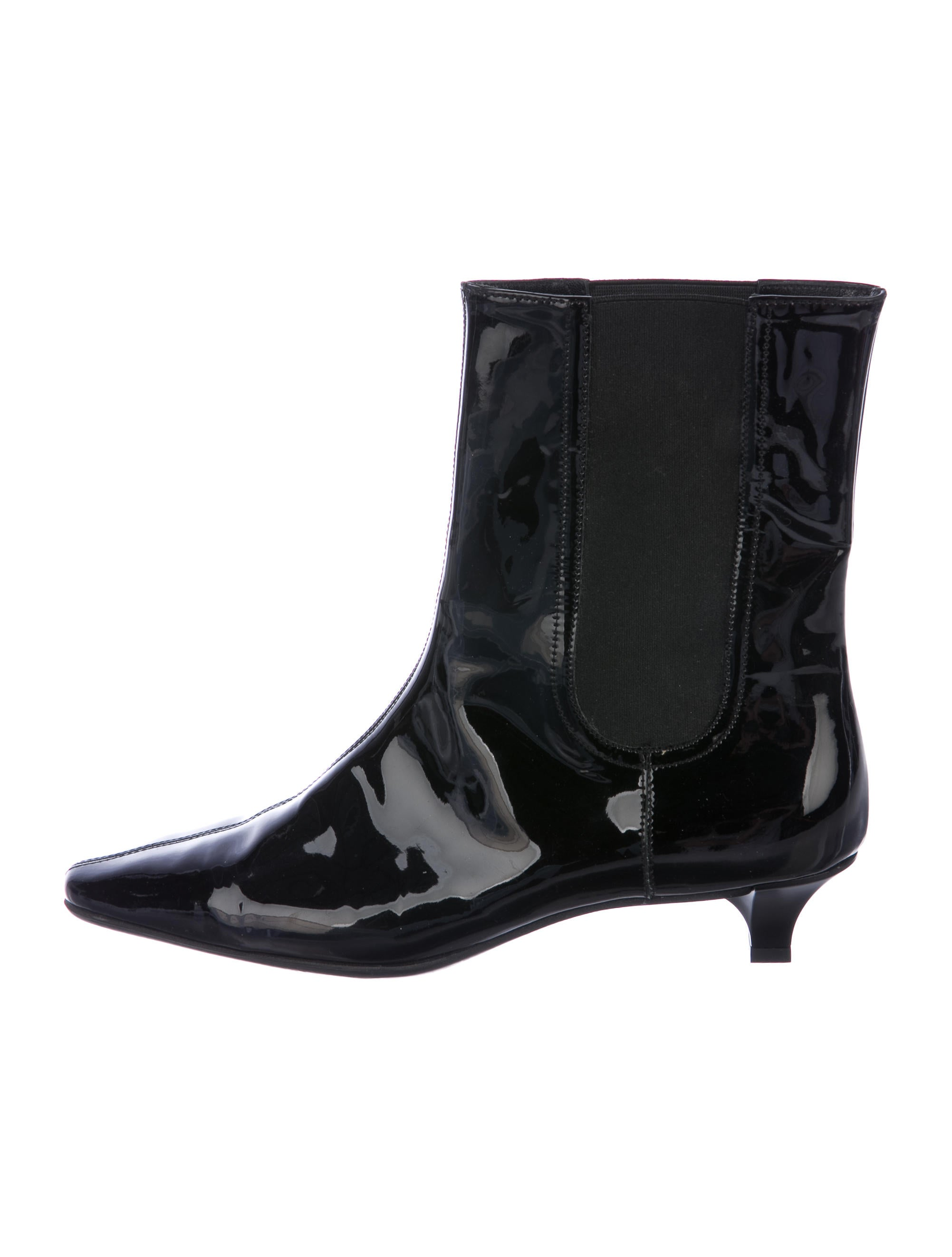 Salvatore Ferragamo Round-Toe Leather Ankle Boots shopping online for sale JNiW0