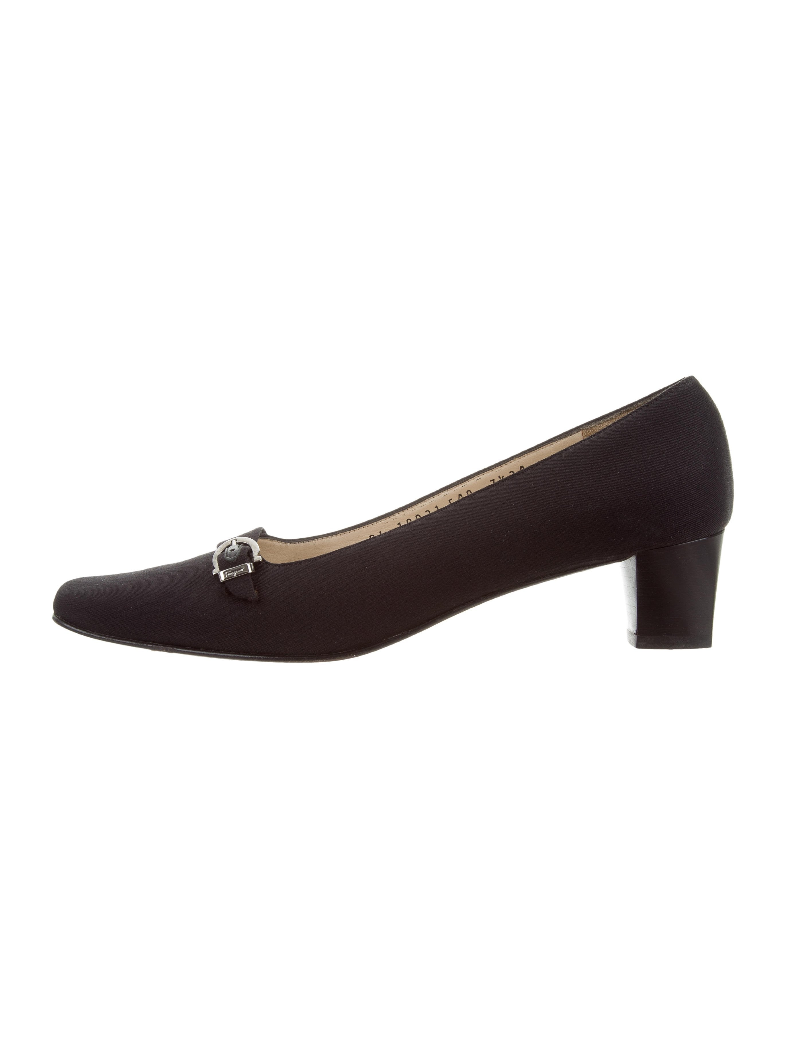 clearance wide range of Salvatore Ferragamo Woven Square-Toe Flats sale get to buy cheap enjoy outlet get to buy mfdDifl