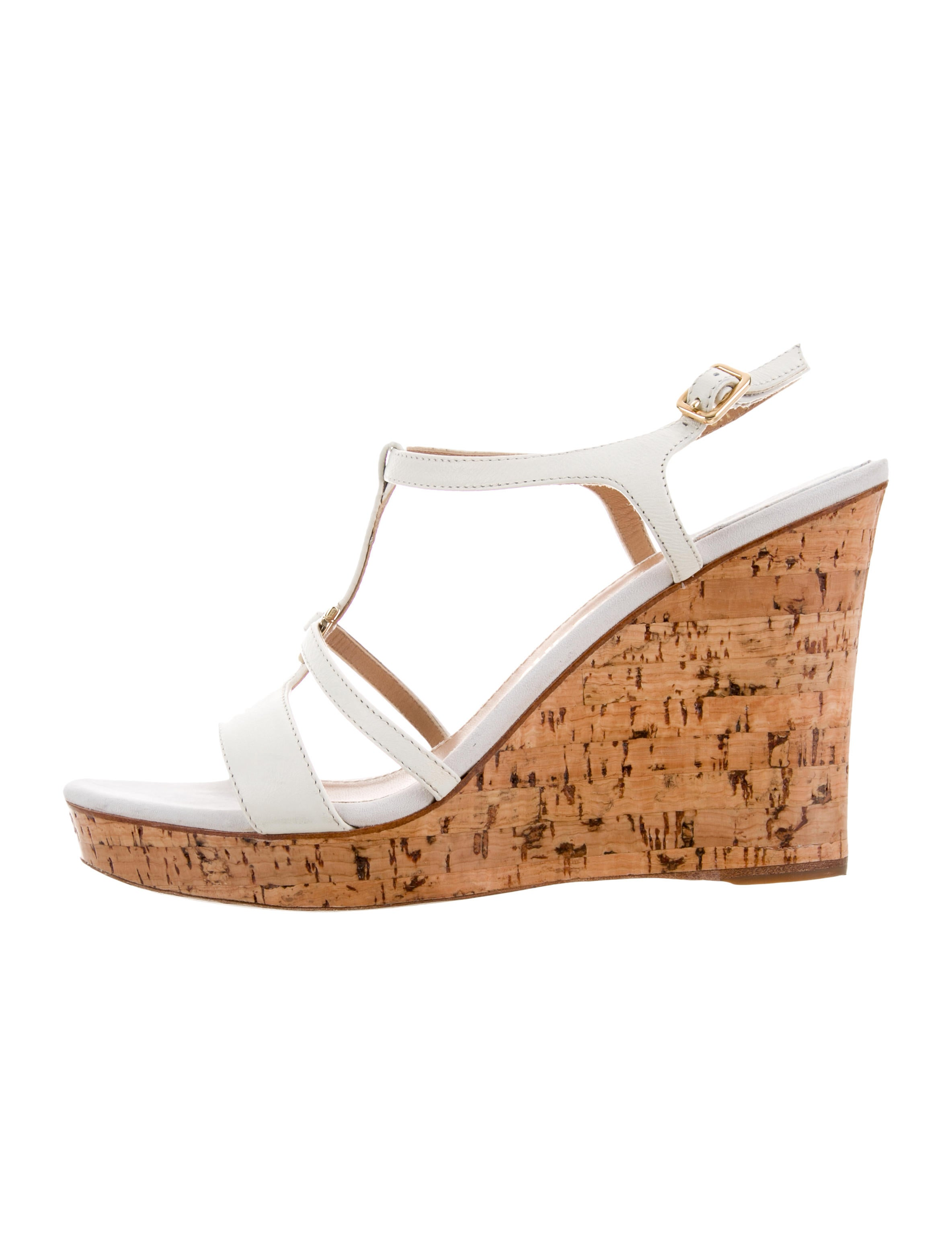 outlet free shipping authentic Salvatore Ferragamo Gancini Wedge Sandals sale browse For sale online obE8N