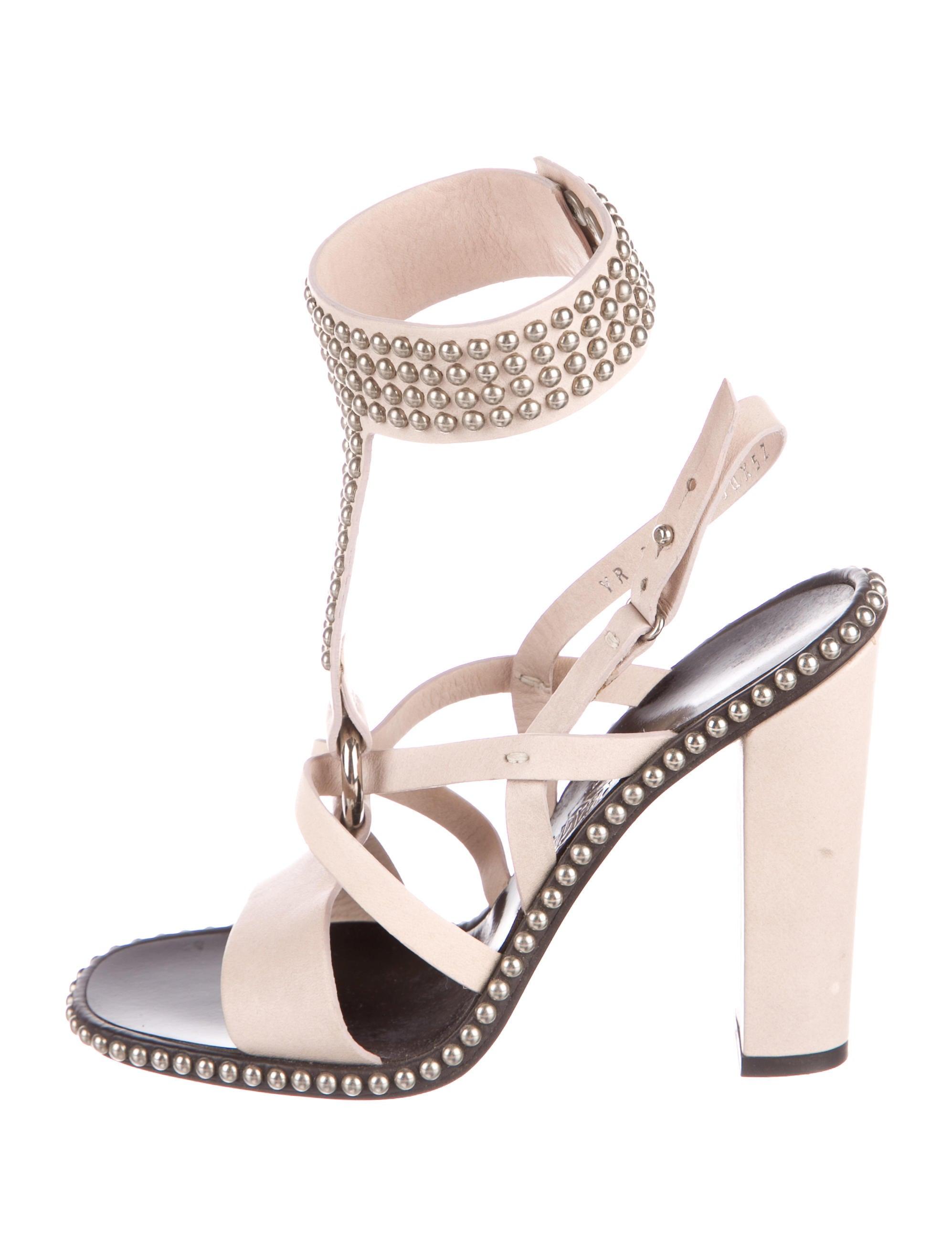 Salvatore Ferragamo Multistrap Leather Sandals really cheap uZVTI