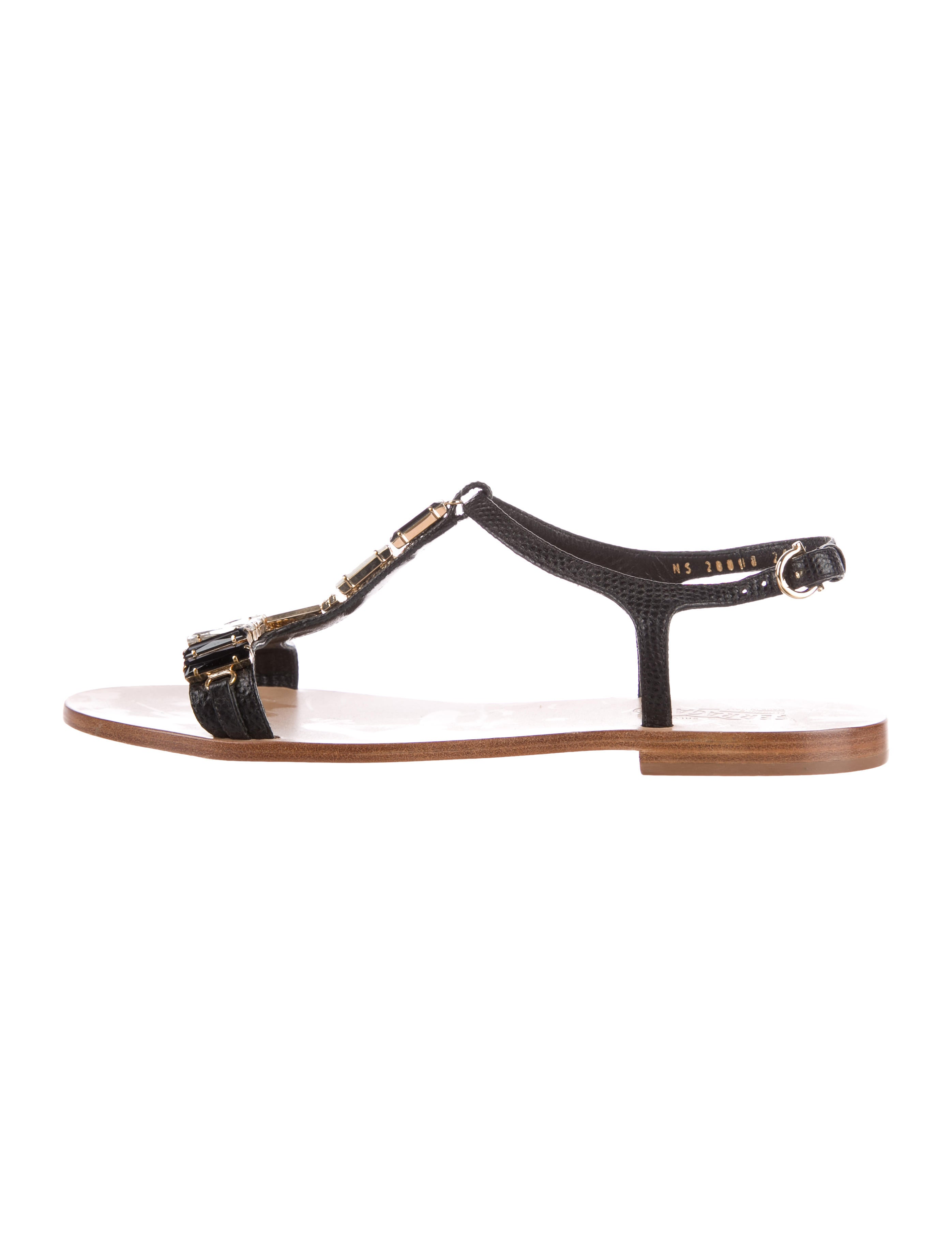 Salvatore Ferragamo Gelso Embossed Sandals websites buy cheap deals get to buy for sale cheap sale largest supplier real cheap price cevptvZHC