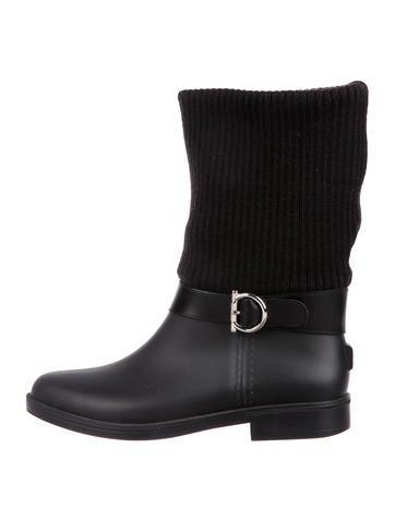Salvatore Ferragamo Thordis Rain Boots None