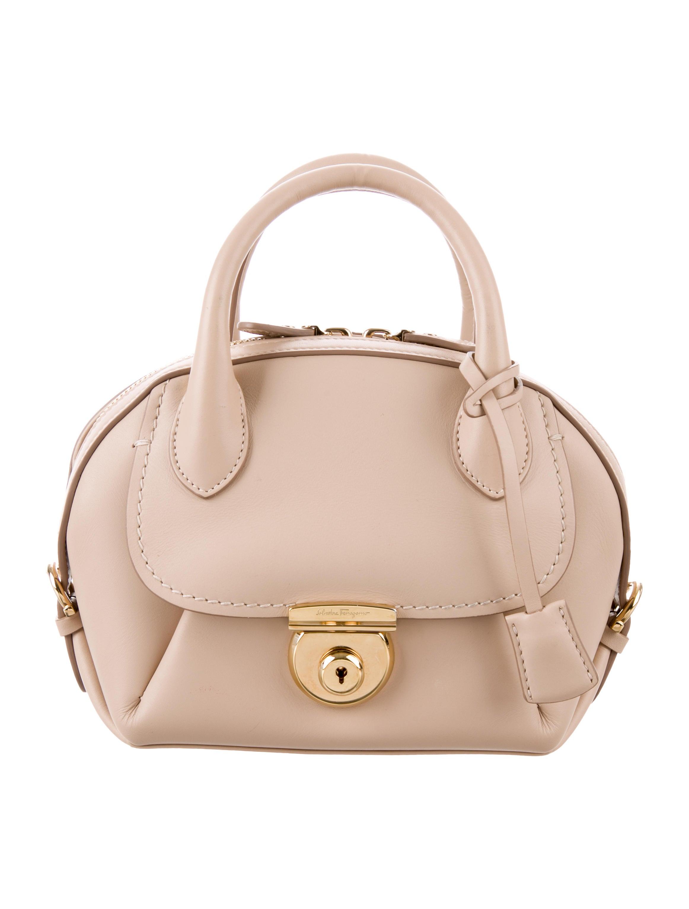 1e75f5bc5362 Salvatore Ferragamo Mini Fiamma Bag - Handbags - SAL63089