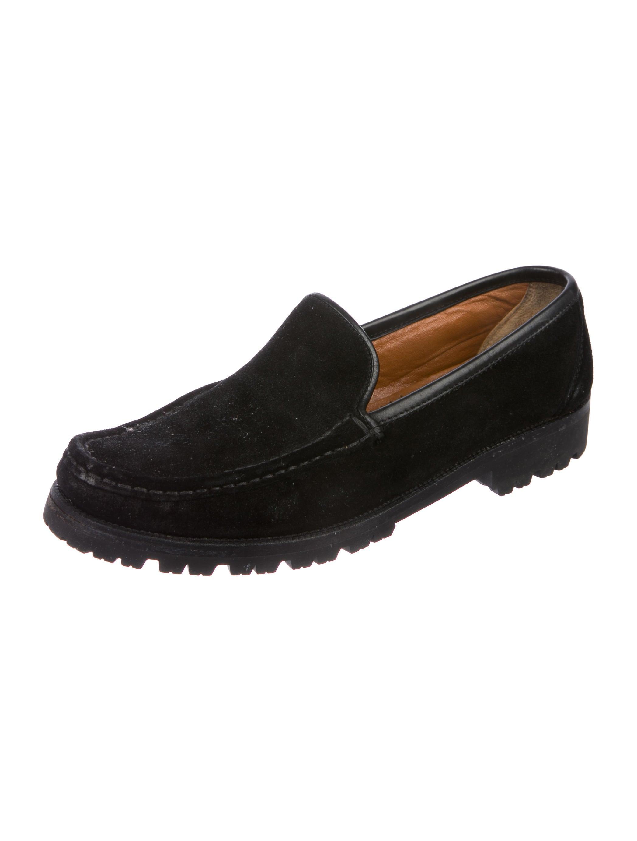Salvatore Ferragamo Secolo Suede Loafers fake cheap price countdown package cheap price discount wiki ozr2MN